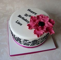 Birthday Cakes Women on Elegant Birthday Cake Designs
