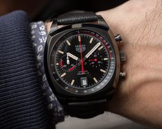 TAG Heuer Monza Watch Reissue Hands-On Hands-On