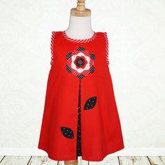 LOVE IT !!!!! Girls dress sewing pattern PDF Childrens by MyChildhoodTreasures, $7.50