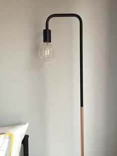 Guest Bedroom; Marmo Marble Floor Lamp From Kmart