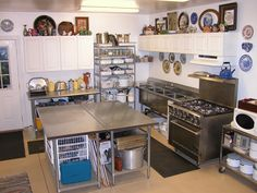 Gene Shepard's dye kitchen ~ would love to have this at the studio