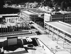 Vista desde el Campanil hacia el Foro de la Universidad de Concepción  1959(2048×1546)