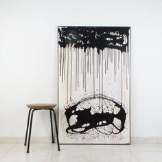 La voz de las sombras, 2006, pintura abstracta | Antic&Chic
