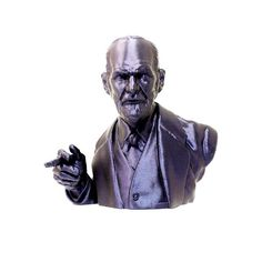 The madman is a dreamer awake - Sigmund Freud . Digital Fabrication, Sigmund Freud, Mad Men, The Dreamers, 3d Printing, Fictional Characters, Art, Psicologia, Sculpture