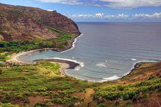 https://flic.kr/p/gLv8f4 | Molokai - Hawaii - Beach - Halawa Beach Park - USA - HDR