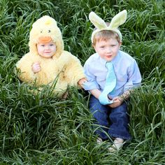 Now these are some Easter treasures! what adorable kids!