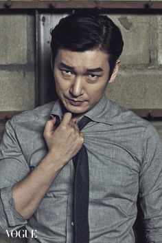 Jo Seung-woo // Vogue Korea