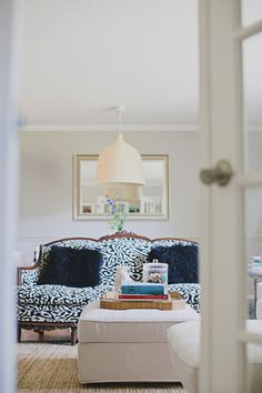 A South Carolina home filled with color and pattern via D*S