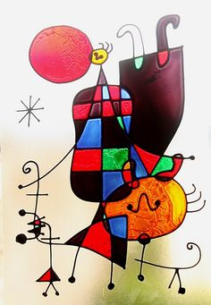 Miró                                                                                                                                                                                 Mais #surrealismo #dibujo #arte #abstracto #art #dadaismo Joan Miro Paintings, Joan Miro Artwork, Pablo Picasso, Wassily Kandinsky, Art Plastique, Funny Art, Famous Artists, Art Lessons, Art Projects