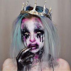 "956 Likes, 7 Comments - Makeup / Halloween Tutorials! (@sfxtutorials) on Instagram: ""Follow me for more video tutorials! ✨Credit to: @kimberleymargarita_ ✨"""