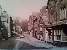 Tatton Park end of King Street (date unknown). Cheshire England, Historical Photos, Old Photos, Street View, King, Park, Places, Historical Pictures, Old Pictures