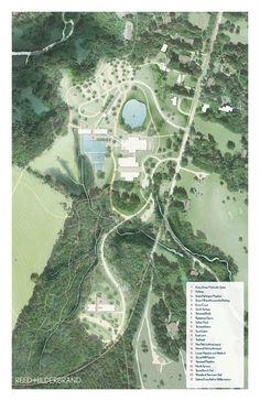 Landscape Masterplan. Image © Reed Hilderbrand