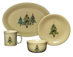Fiesta Christmas Tree Collection - Casual Dinnerware - Dining \u0026 Entertaining - Macy\u0027s | Fiestaware | Pinterest | Fiestas Casual dinnerware and Fiesta ware  sc 1 st  Pinterest : fiesta dinnerware christmas tree collection - pezcame.com