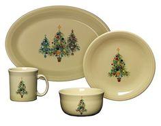 Christmas dinnerware setsChristmas dish setsholiday dinnerware setsholiday plates  sc 1 st  Pinterest & MADE IN USA..Fiesta Christmas Tree Lunch Plate - Dinnerware - Dining ...