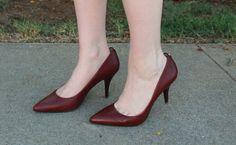 Red Heels, Michael Kors heels