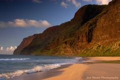 Polihale Beach, Kauai  We spent a day here on our Honeymoon....not a person around for miles!