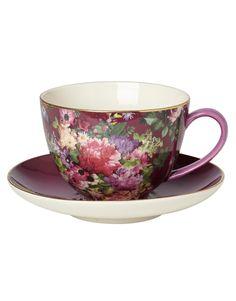 ROSE CUP SAUCER kopp med fat | Mugs/cups | null | Glas & Porslin | Home | INDISKA Shop Online
