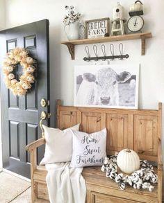 39 Rustic Farmhouse Living Room Design and Decor Ideas