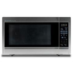 Sharp 2.2 Cu. Ft. 1,200-Watt Stainless Steel Countertop Microwave Oven (Model: R651ZS)