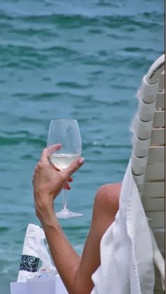 A glass of vino and a sea breeze. Can't happen soon enough!