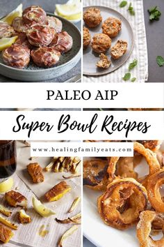 A roundup of easy, healthy AIP Paleo Game Day Snacks and Appetizers for Super Bowl munching. #aiprecipes #paleorecipes #paleo #aip #aipdiet #autoimmunepaleo #aipprotocol #autoimmuneprotocol #autoimmunedisease #appetizers #aipappetizers #aipsnacks #footballfood #superbowl #gameday #gamedaysnacks #gamedayfood #superbowlsnacks Paleo Appetizers, Appetizer Recipes, Game Day Food, Flourish, Paleo Recipes, Super Bowl, Healthy Food, Healing, Community