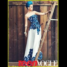 Katy perry on teen vouge