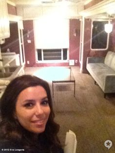 I love that Eva Longoria shared her final day on set via pictures: