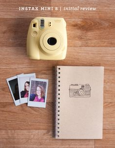 Using the Instax Mini 8 Camera - Simple Scrapper