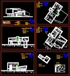 Engineering  et Architecture: Plan d'une Banque en dwg
