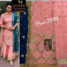 Punjabi Suit Boutique, Boutique Suits, Latest Punjabi Suits Design, Salwar Suit Neck Designs, Salwar Suits, Sari, Fashion, Saree, Moda