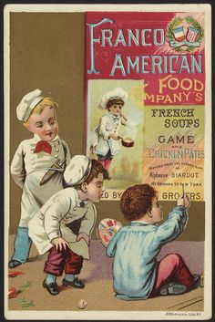 Franco American Food Company's French soups, game and chicken pates