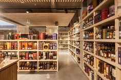 Crombé winehouse shop by FIVE AM, Kortrijk – Belgium