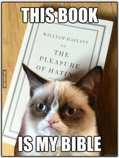 Grumpy Cat's Favourite Book! » This Book is My Bible!