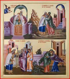 Byzantine Icons, Byzantine Art, Roman Church, Life Of Christ, Russian Icons, Infancy, Catholic Art, Orthodox Icons, Mother Mary