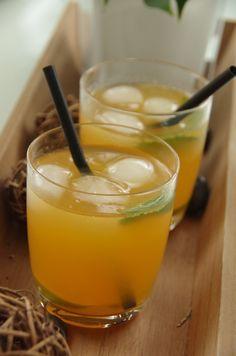 Thé glacé melon, citron et menthe - Le blog de novice en cuisine
