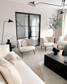 Home Room Design, Dream Home Design, Home Interior Design, Living Room Designs, Home Living Room, Apartment Living, Living Room Decor, Living Spaces, Modern Living Rooms
