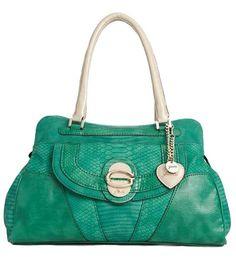 Jade snakeskin guess bag