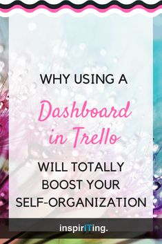 Why using a Dashboard in Trello will totally boost your self-organization | Did you ever consider using a board as a dashboard that collects your open cards and shows you at a glance what needs to be done? - Building a dashboard in Trello is easy to accomplish, and here is how. #Trello #Dashboard #Workflow #Productivity #ProjectManagement