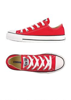 f6b66ddbbc94 Shoes · Red Converse Classic or high top both are cute Converse Ox