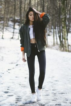Casual street style fashion