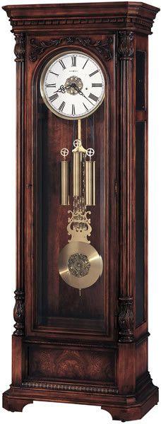 0-024467>Trieste Floor Clock Distressed