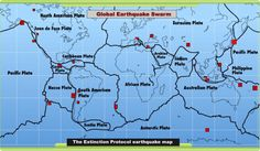 Earth reeling from nine major earthquakes, striking in 5 days | The Extinction Protocol: 2012 and beyond