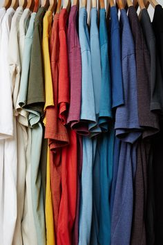 t shirts in every color