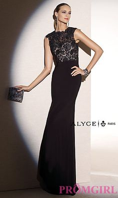 Floor Length Formal Prom Dress by Alyce at PromGirl.com