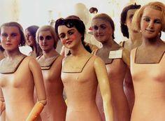 turn of the century european mannequins