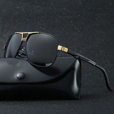 839096dfa7 Men s Polarized Pilot Sunglasses Outdoor Driving Sun Glasses Sport Eyewear   YourPinterestLikes Men s Accessories