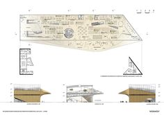 a f a s i a: ALA Architects Central Library, Helsinki, Floor Plans, Architects, Architecture, Building Homes, Floor Plan Drawing, House Floor Plans