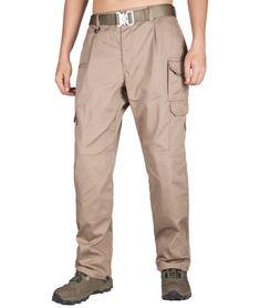 X-Future Men Open-Bottom Multi Pockets Big /& Tall Utility Loose Cargo Shorts