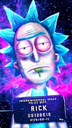 Trippy Animated Wallpapers Rick And Morty Wallpaper Rick And Morty Pinterest