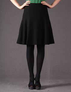 Wool Skater Skirt